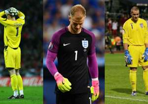 Peter Bonetti, David Seaman, David James... and now Joe Hart. If you can rely on something, it's the unreliability of an English goalkeeper. Goal runs through the worst blunders...