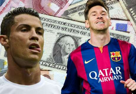 Die 20 bestbezahlten Fußballer der Welt