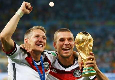 Schweini & Poldi get farewell games