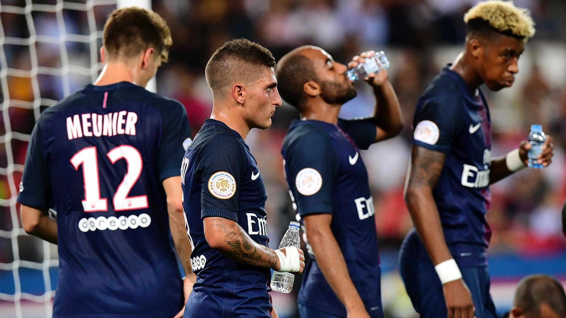 Verratti blanchi par l'UEFA pour son rouge — PSG