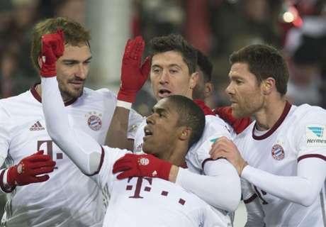 Last-gasp Bayern down Freiburg