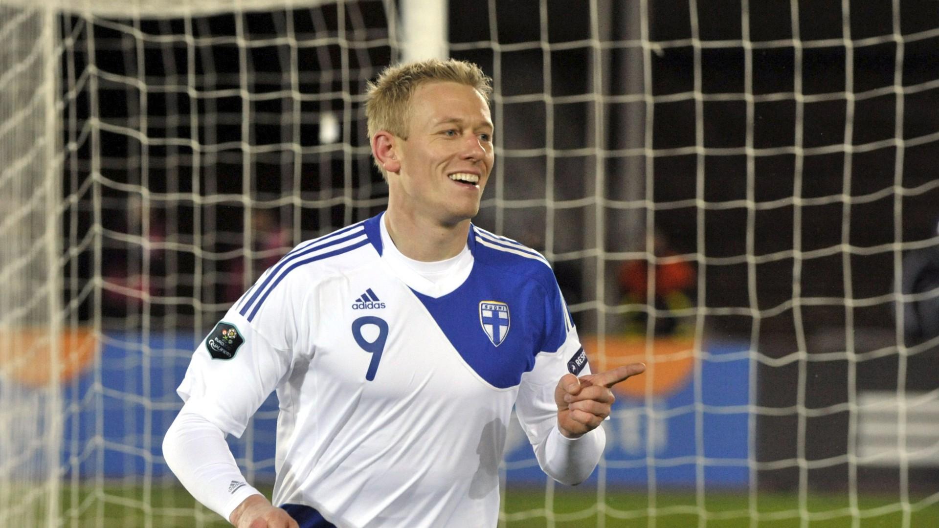 Mikael Forssell Finland striker