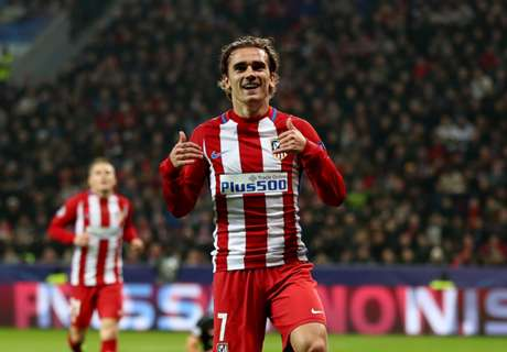 Griezmann tops Chicharito