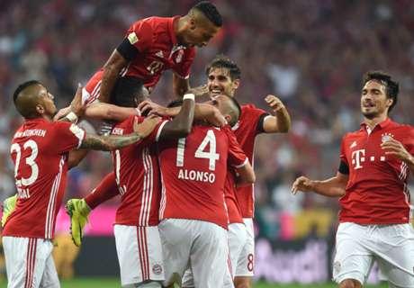 Bayern Munich goleó en su debut