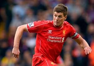 Gerrard spielte von 1996 bis 2015 bei den reds