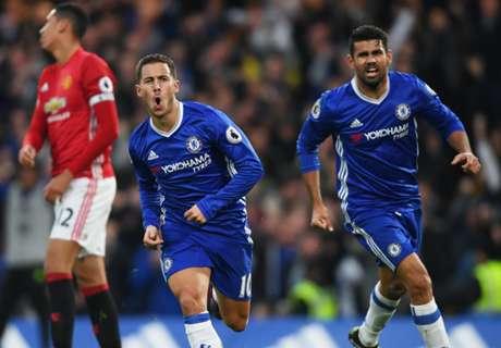 Chelsea-MU 4-0, résumé de match