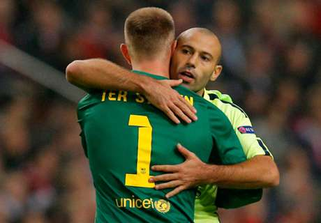 Barca-Duo zurück im Kader