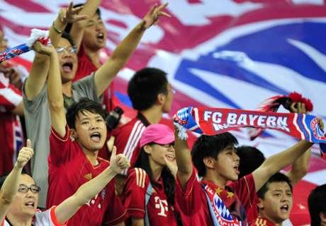 Bayern plant Asien-Reise