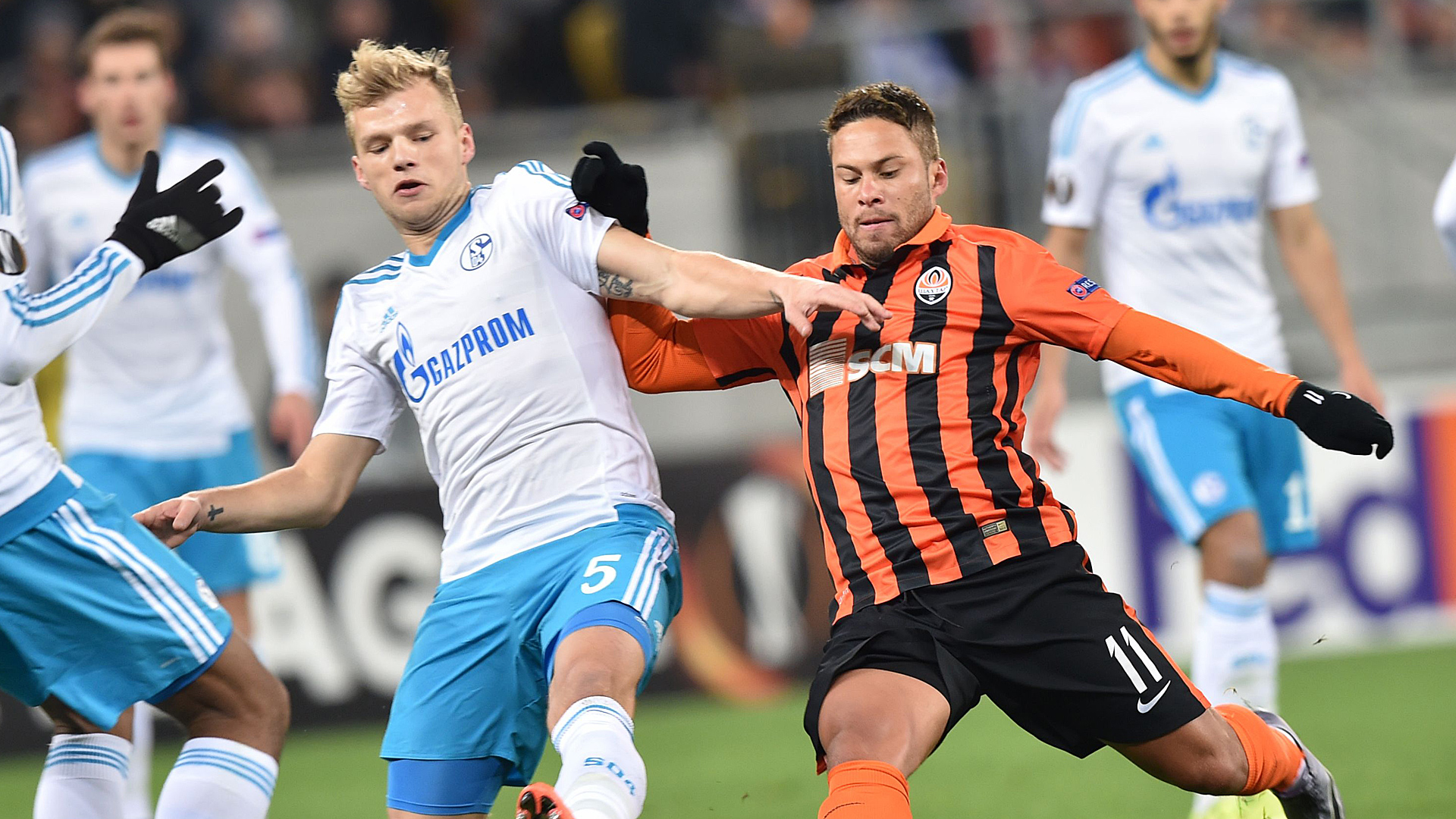 Video: Shakhtar Donetsk vs Schalke 04