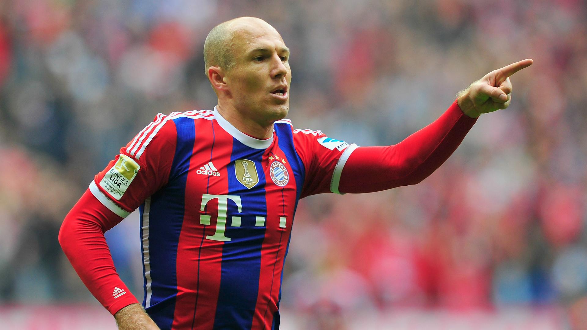Arjen Robben FC Bayern München Bundesliga Goal