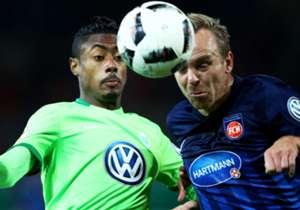 Bruno Henrique musste gegen Heidenheim schon früh verletzt raus