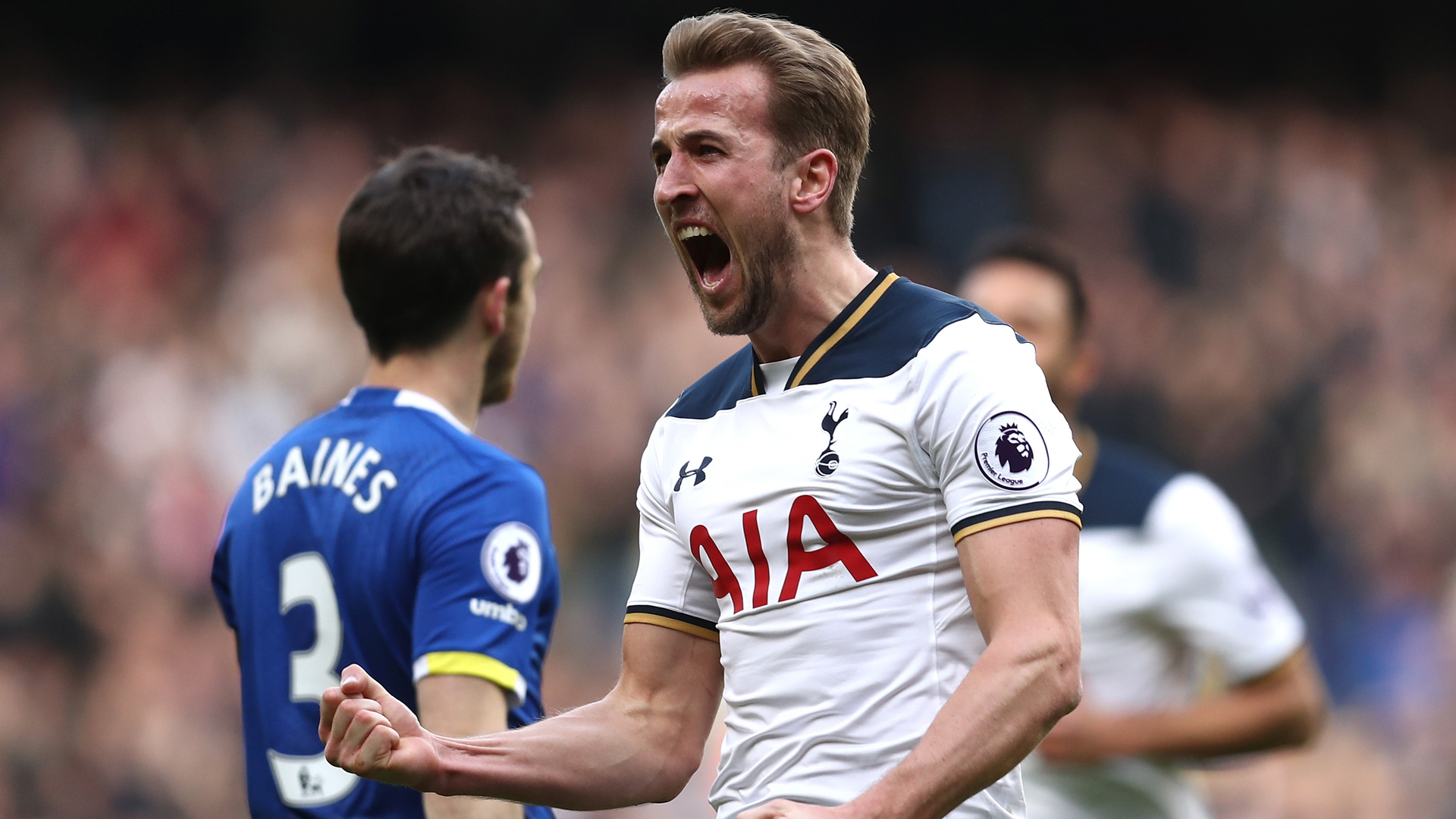 Premier League: Kane brille et Tottenham domine Everton