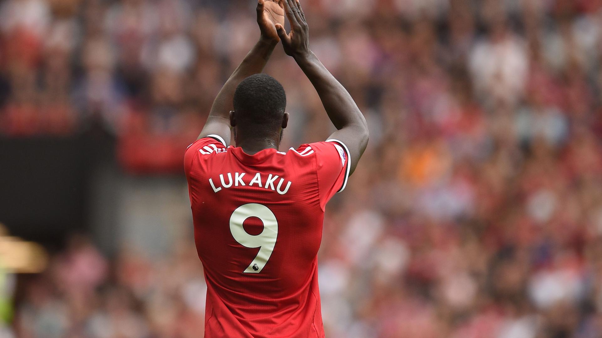 Romelu Lukaku Manchester United Premier League 13082017