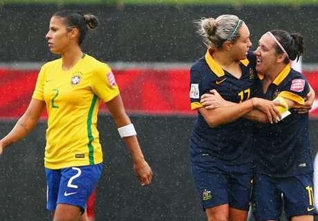 Frauen-WM: Brasilien gescheitert