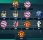 Top-11 CL: Bayern-Trio & Manchester-Stars