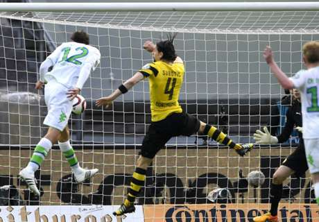 LIVE! Borussia Dortmund - Wolfsburg: 1-3