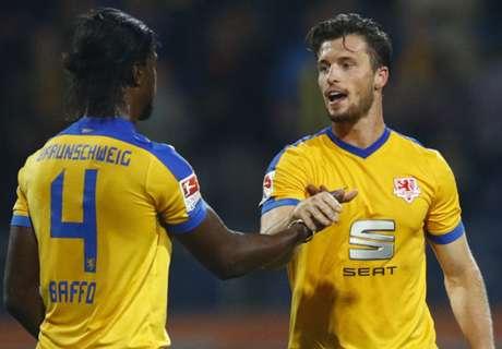 2. Liga: Braunschweig trifft spät
