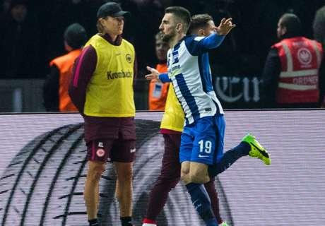 Heimsieg! Hertha überholt die Eintracht