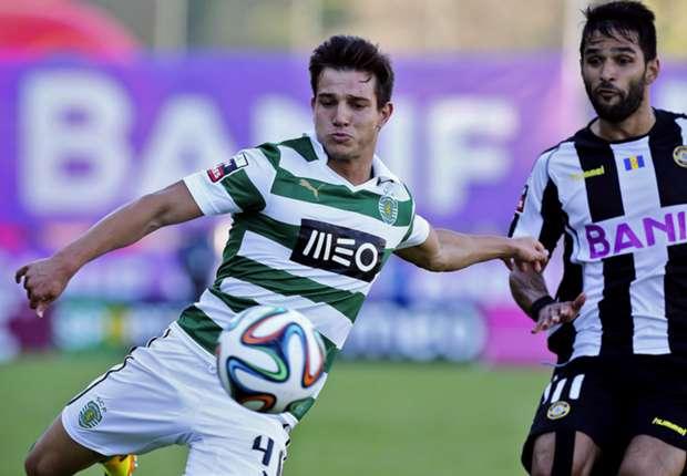 Rechtsverteidiger Cedric Soares (l.) von Sporting Lissabon