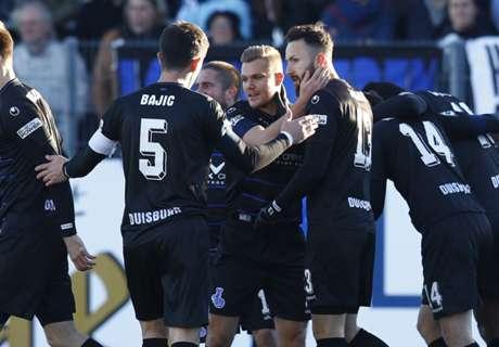 3. Liga: Duisburg ist Herbstmeister