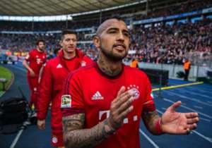 Arturo Vidal kam 2015 von Juventus Turin zum FC Bayern München