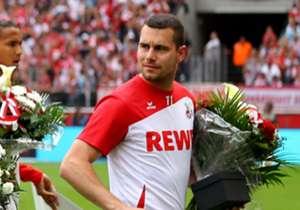 Thomas Bröker wurde vom 1. FC Köln nach dem letzten Saisonspiel verabschiedet