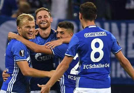 Schalke zeigt sein EL-Gesicht