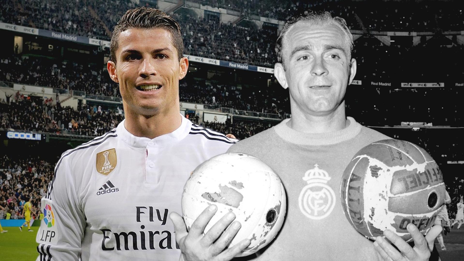 Alfredo Di Stefano Cristiano Ronaldo Goal