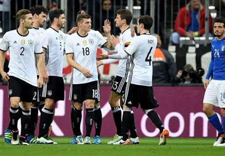 Amistoso: Alemanha 4 x 1 Itália