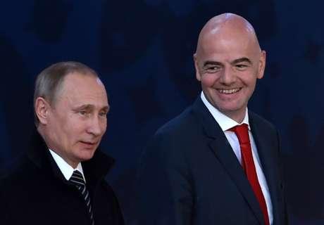 Skandale beeinträchtigen WM 2018 nicht