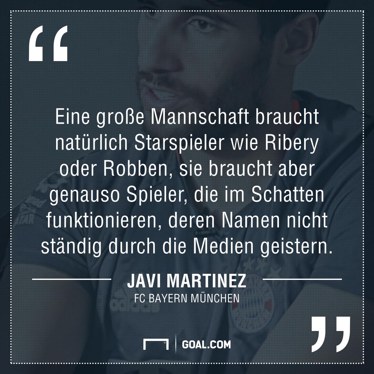 """Bayerns Javi Martinez exklusiv: """"Es hätte das Ende sein ..."""