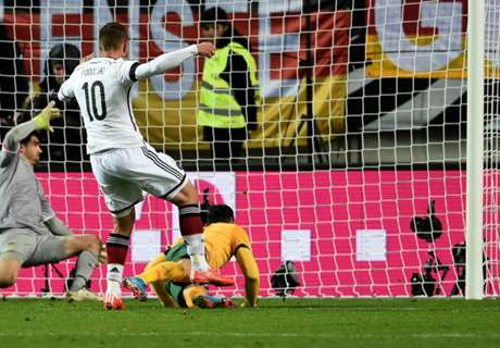 Germany almost embarrassed by Australia