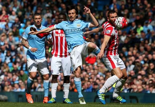 ไฮไลท์  Manchester City 4 - 0 Stoke City