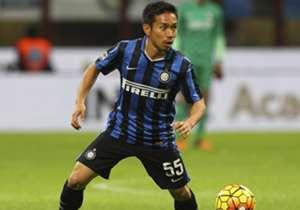 Yuto Nagatomo bestritt in dieser Saison bisher 14 Pflichtspiele für Inter Mailand