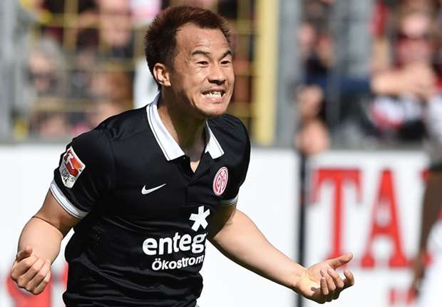 Shinji Okazaki erzielte gegen Freiburg einen Doppelpack