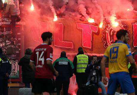 Chaos bei Braunschweig-Training