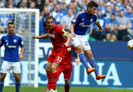 Schalke krijgt gevoelige tik van Köln