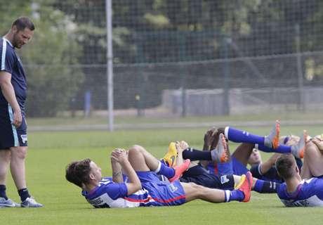 Hertha: 29 Spieler bei Trainingsstart