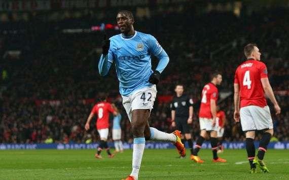 Yaya Toure von Manchester City
