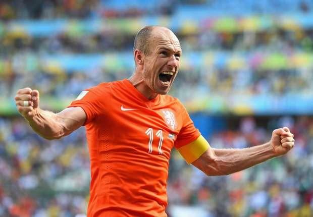 Arjen Robben drückte der WM bisher seinen Stempel auf