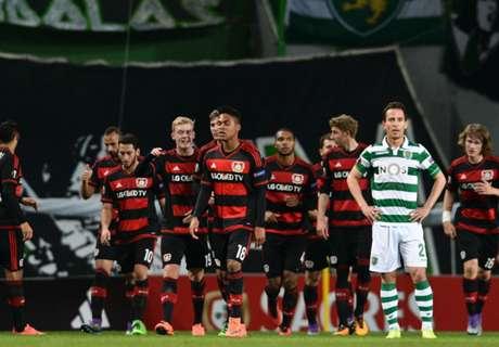 UEL: Sporting 0-1 Leverkusen