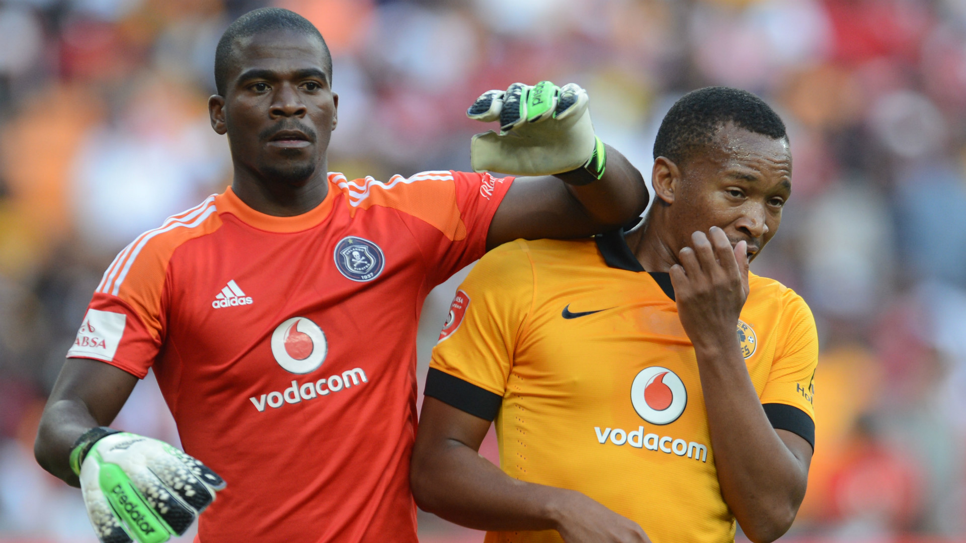 Kaizer Chiefs: Orlando Pirates Kaizer Chiefs Senzo Meyiwa Lehlohonolo