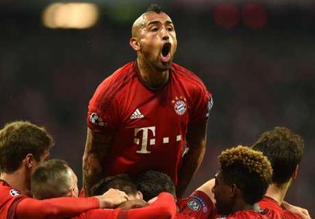 Arturo Vidal, muy enojado