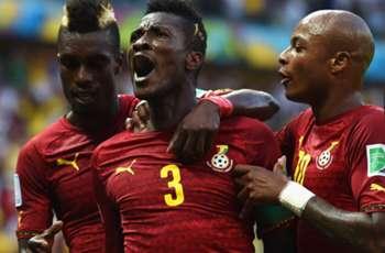 Gyan's Black Stars career highlights