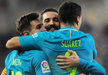FT: Eibar 0-4 Barcelona