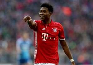 Der Einsatz von David Alaba im DFB-Pokal ist ungewiss