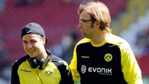 Mario Gotze Jurgen Klopp Borussia Dortmund