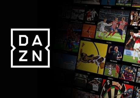 Das Live-Stream-Programm auf DAZN