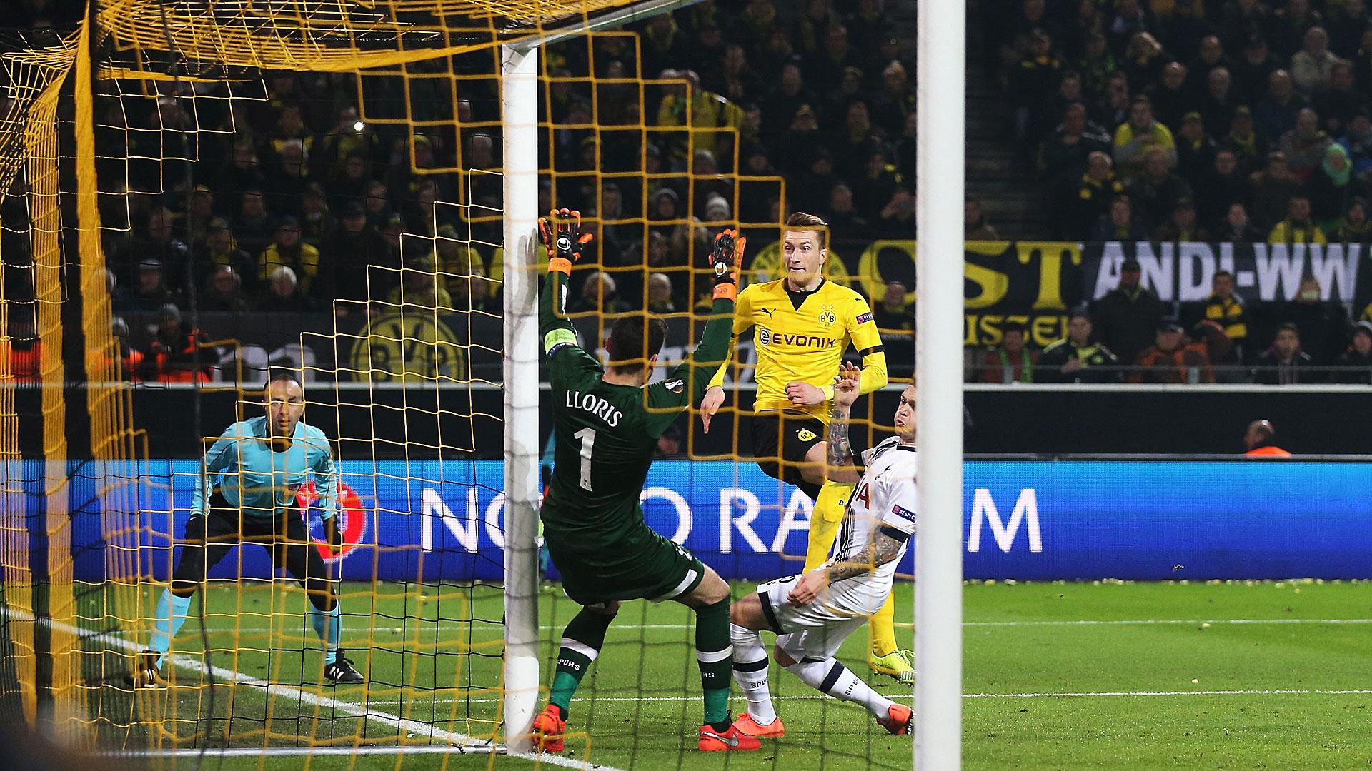 MARCO REUS BORUSSIA DORTMUND TOTTENHAM HOTSPUR UEFA EUROPA LEAGUE 10032016