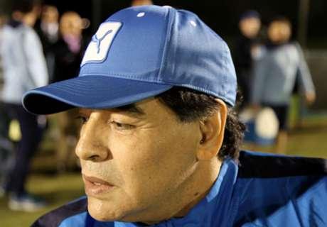 Maradona y el silencio de la Selección